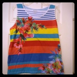 Colorful and soft tank top